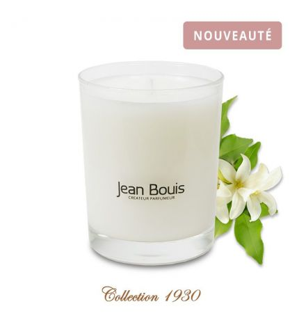 bougie parfum e fleur d 39 oranger absolue jean bouis. Black Bedroom Furniture Sets. Home Design Ideas